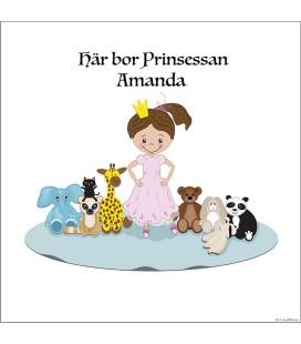 Namntavla Prinsessa