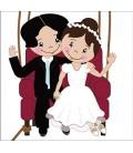 Bröllop Luftballong