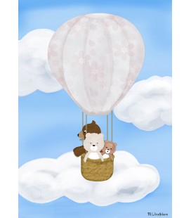Barntavla Ovan molnen