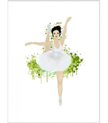 Ballerina greensplash