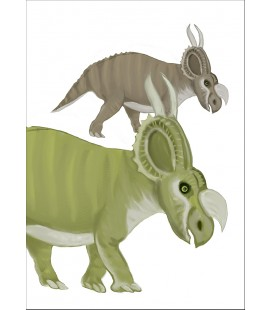 Barntavla Einiosaurus