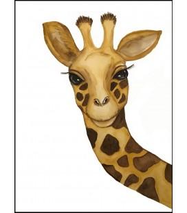 Barntavla Giraff