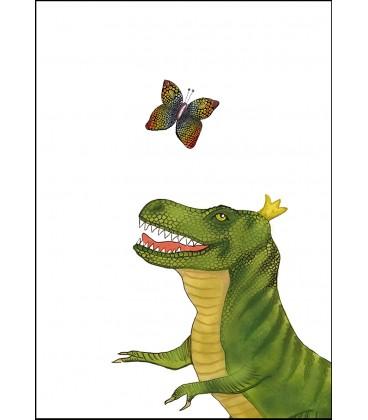 Barntavla Tyrannosaurus färg