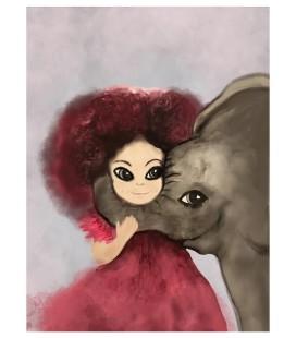 Barntavla Elefantkram