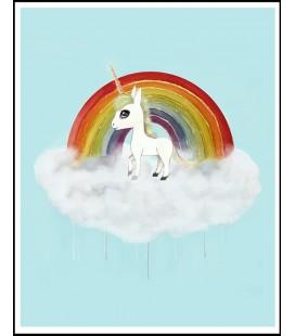Barntavla Unicorn