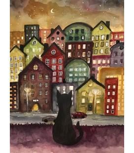 Konstprint Stadens nattvakter