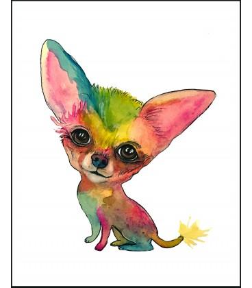 Konstprint Chihuahua
