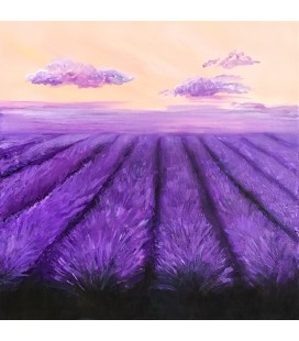 Konstprint Lavender fields