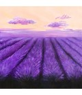 Konstprint Lavender fields