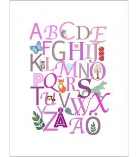 Alfabetet rosa