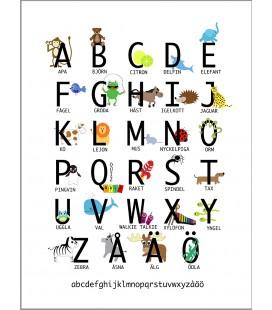 Alfabetsposter