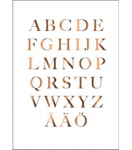 Alfabet koppar